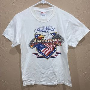 Vintage Proud to be an American USA Eagle Shirt